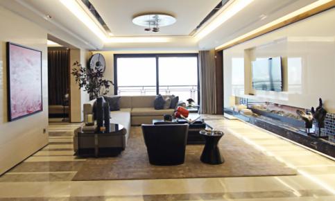 现代简约三居大宅装修设计案例 现代简约三居效果图欣赏