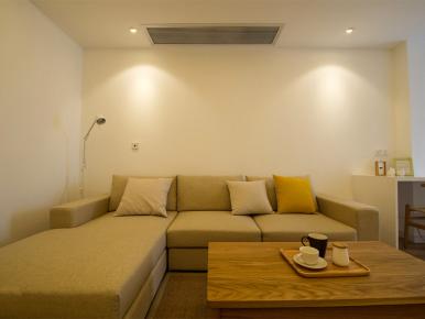 长沙雅致简约95平米两居室装修