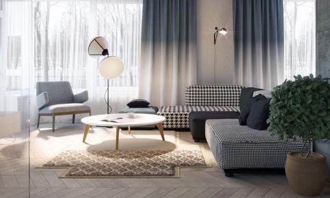 北欧格调家居装修设计案例 北欧格调家居效果图欣赏