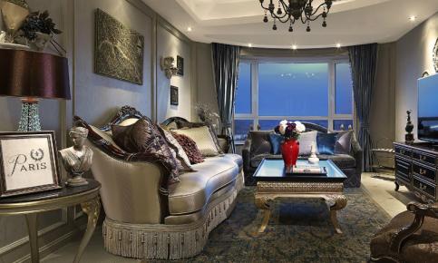 欧美风格家装设计案例 欧美风格效果图欣赏