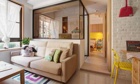 北欧小户型家装设计案例 北欧小户型效果图欣赏