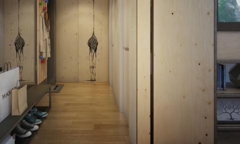 北欧原木家装设计案例 北欧原木家装效果图赏析
