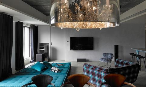 优雅的北欧单身公寓装修设计案例 享受生活就该如此