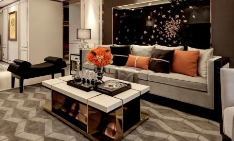 现代简约三居装修设计案例 现代简约三居装修效果图