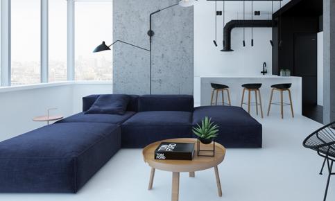 开放式北欧家居装修 北欧风格效果图欣赏