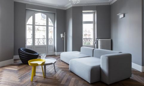 灰色调北欧风格家装设计案例 灰色调北欧风格效果图欣赏