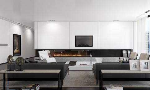北欧性冷淡风格家装设计案例 北欧性冷淡风格家装效果图欣赏