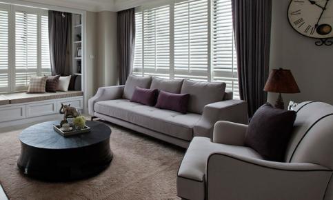 现代美式风格三居装修设计案例 现代美式风格三居效果图赏析
