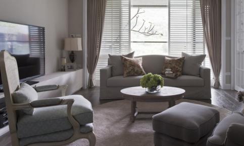 现代美式风格三居装修设计案例 现代美式风格效果图欣赏