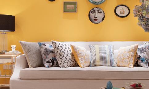 现代暖色调家居装修设计案例 现代暖色调家装效果图欣赏