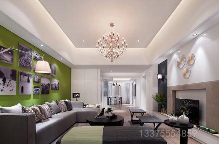 青岛装修:现代简约风格三房装修案例分享