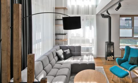 北欧跃层家装设计案例 北欧跃层家装效果图欣赏