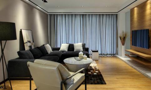 现代简约三居装修设计案例 现代简约三居效果图欣赏