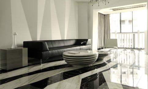 黑白色调家装设计案例 黑白色调家装效果图欣赏