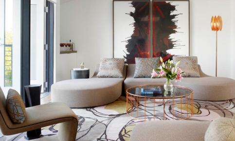 后现代复式公寓家装设计案例 后现代复式公寓效果图欣赏