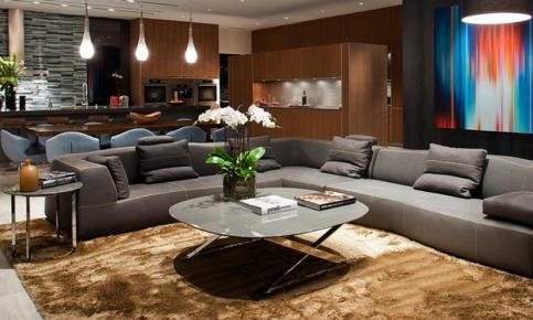 现代风格别墅家装设计案例 现代风格别墅效果图欣赏