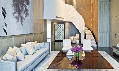 现代美式风格别墅装修设计案例 现代美式风格别墅效果图欣赏