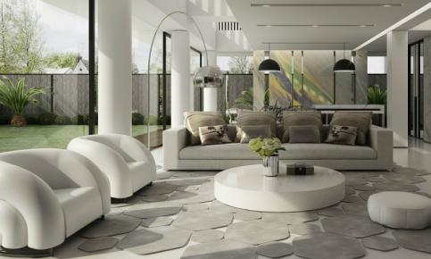 现代简约风格别墅家装设计案例 现代简约风格别墅效果图欣赏