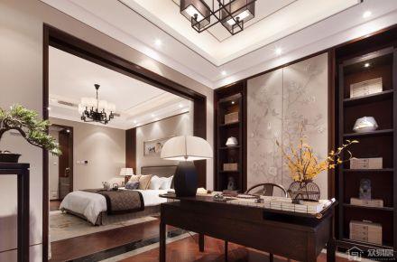 北京胜茂傲山 中式风格四房装修设计