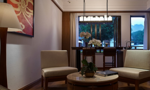 现代东南亚风格家装设计案例 东南亚风格家装效果图欣赏