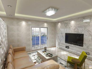 惠州现代风格三房装修设计效果图欣赏 三和国际花园城