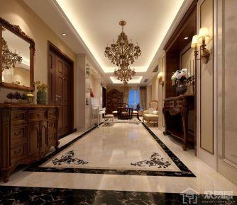 珠海美式风格四房装修 美式风格家庭装修设计效果图