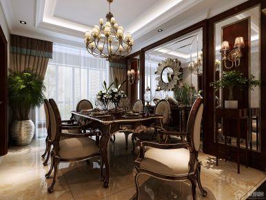 西安曲江公馆和园 224平米家庭装修设计