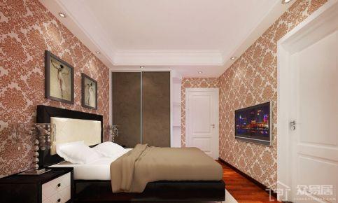 东莞中式风格四房装修 巷头花园家庭装修设计欣赏