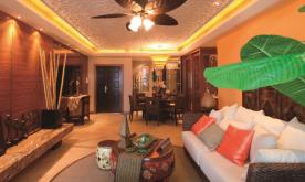 东南亚风格家装设计案例 东南亚风格家装效果图欣赏