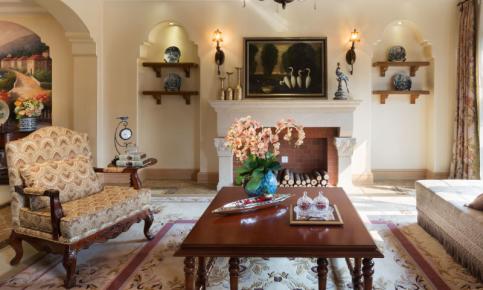 美式风格别墅装修设计案例 美式风格别墅效果图欣赏
