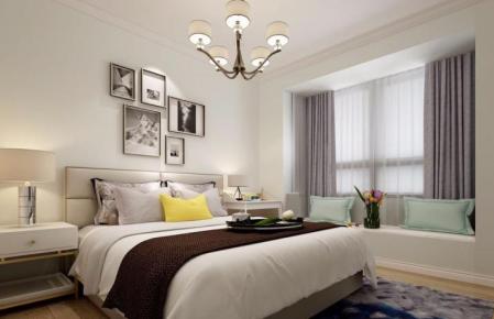 南昌保利香槟欧式风格两居室装修案例