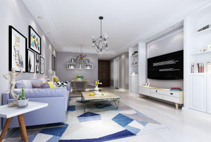 嘉兴格林小镇现代风格三居室装修效果图