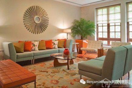 亚星盛世花园地中海三居室装修效果图