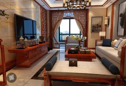 现代三居室装修效果图欣赏