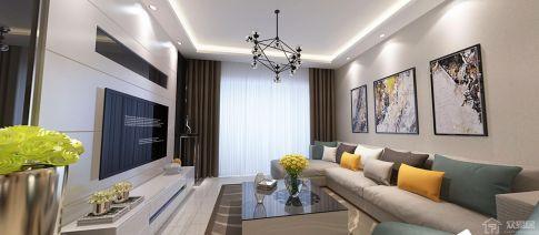 贵阳现代风格三房装修设计 现代风格家庭装修效果图