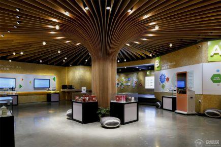 中山伊电园现代风格办公室装修效果图