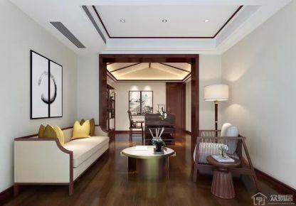 南昌现代风格三房装修设计欣赏 南昌美典