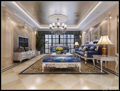欧式风格四居室装修设计 欧式风格家庭装修效果图