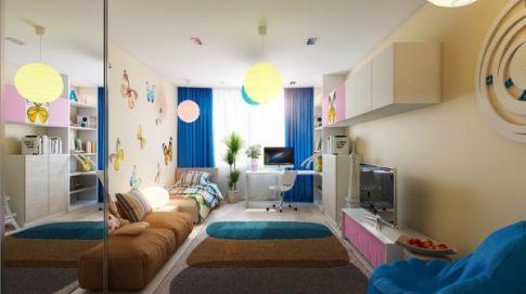 2018年儿童房装修设计精选