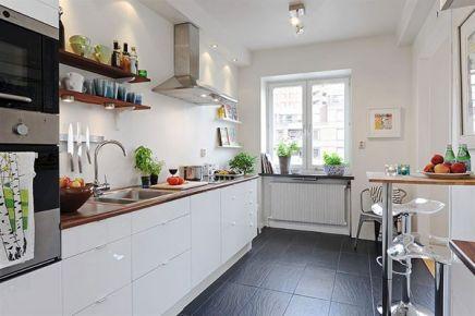 30个让烹饪更享受的北欧风格厨房