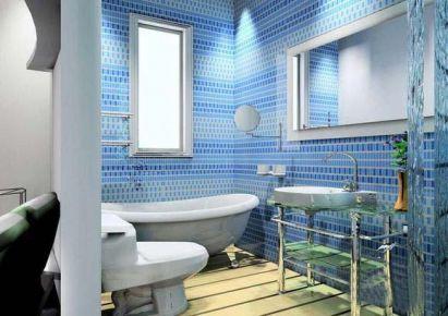 卫浴间装修设计布置图