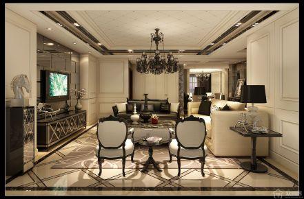 现代风格家庭装修设计效果图 东润枫景小区