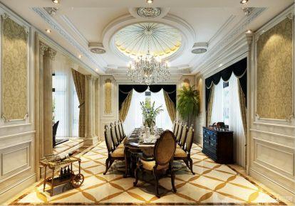 上海昆玉九里欧式古典风格别墅设计案例