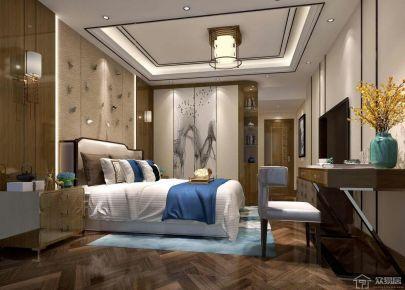 佛山星星凯旋国际中式四居室装修案例
