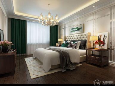 华邦光明世家混搭风格四居室装修案例