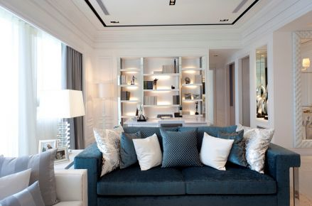 现代风格三房装修设计 现代风格家装效果图