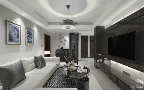 丽景阳光简约风格两居室装修案例
