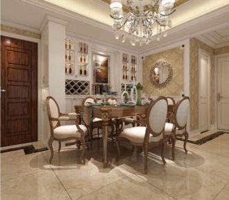 福根美林 85平简欧风格两室一厅一卫装修