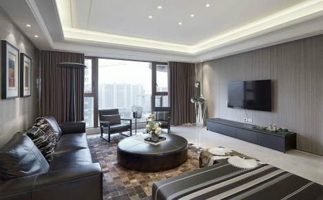 丽景阳光样板房简约三居室装修案例