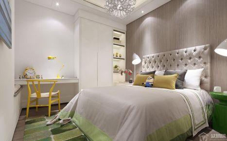 广州市白云区时代水岸 现代风格三房装修设计
